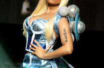 Nicki Minaj – Dick Clark 2012 New Year's Eve Countdown – outfits designed by Maggie Barry